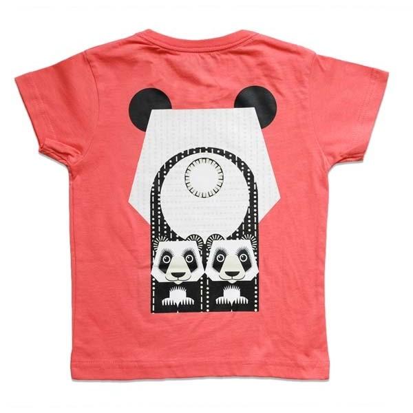 T-shirt enfant manches courtes - Dos - Panda