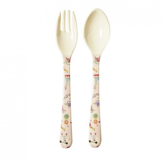 Cuillère et fourchette - Cricus Girl