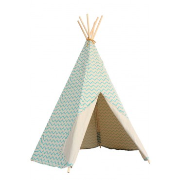 Tipi Arizona - Zigzag Green