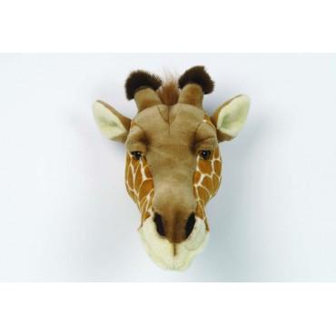 Trophée peluche - Tête de girafe