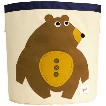 Bac à jouets - Ours brun