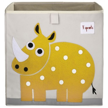 Cube de rangement - Rhinocéros