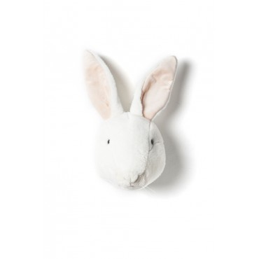 Trophée lapin blanc - Alice