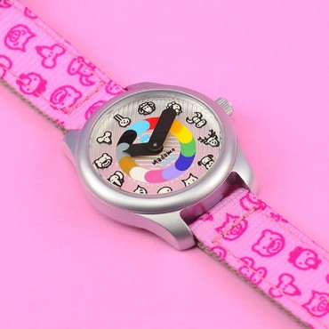 Montre enfant Madame Irma - Rose