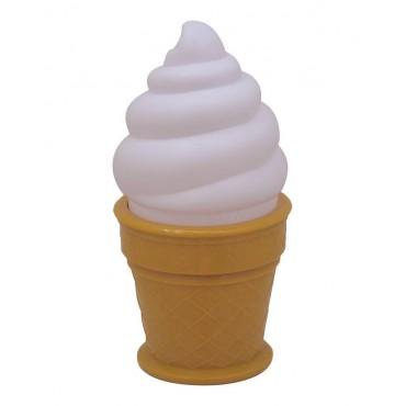 Grande veilleuse glace - blanc