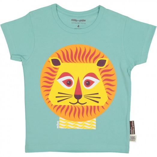 Tee-shirt enfant manches courtes - Lion
