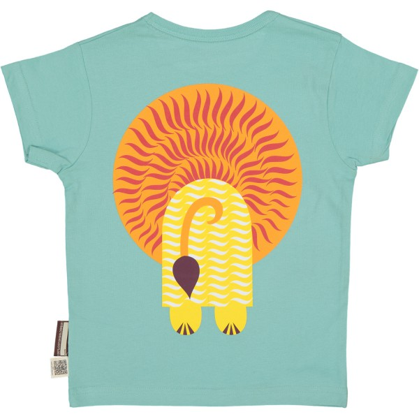 Tee-shirt enfant manches courtes - Lion - dos