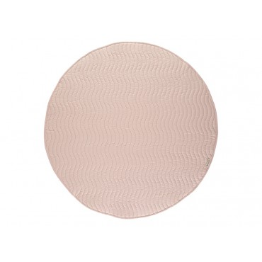 Tapis rond Kiowa S - Bloom pink - Rose