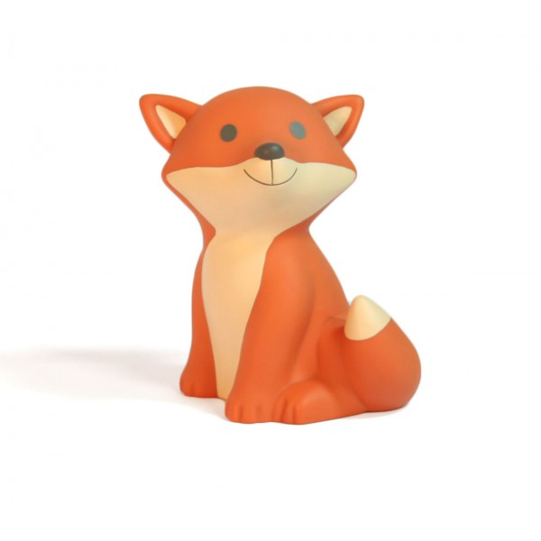 Lampe veilleuse renard Cesar - Orange