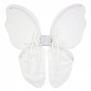 Ailes de papillon fée Tulle - Blanc