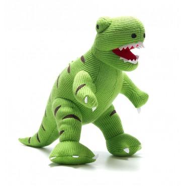 Dinosaure au crochet - T-Rex vert - Grand modèle