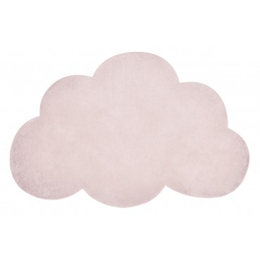 Tapis tufté nuage - Rose layette