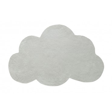 Tapis tufté nuage - Vert de gris