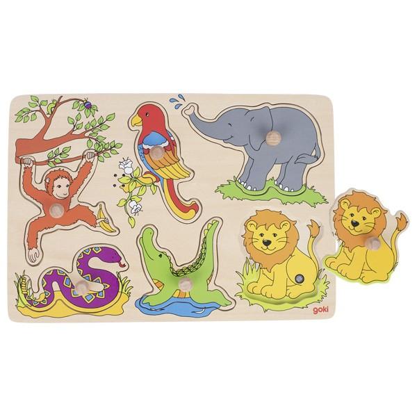 Puzzle son - Animaux du Zoo