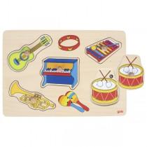 Puzzle son - Instruments de musique