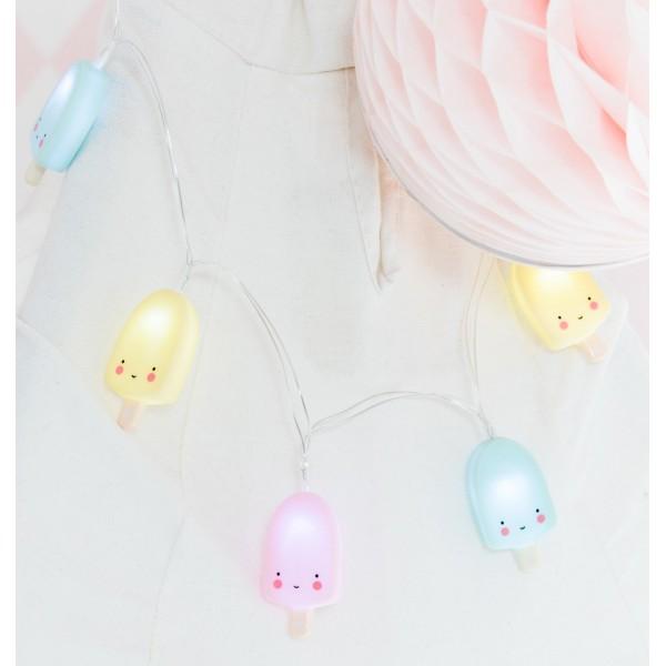 Guirlande lumineuse - Popsicle