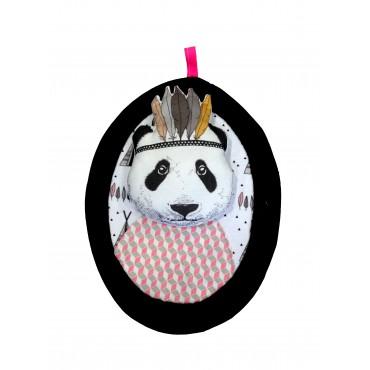 Trophée portrait encadré - Panda