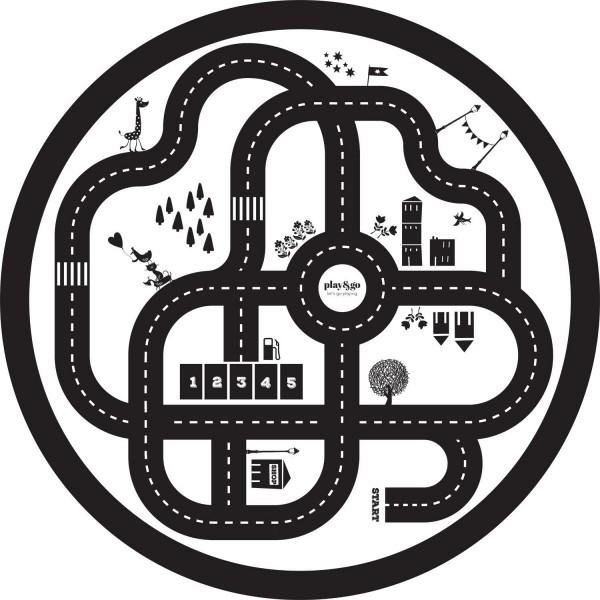 Tapis de jeu et sac de rangement Roadmap
