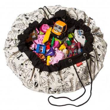Tapis de jeu et sac de rangement Color My Bag