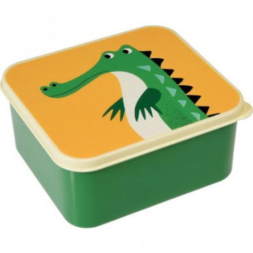 Lunchbox carré - Crocodile