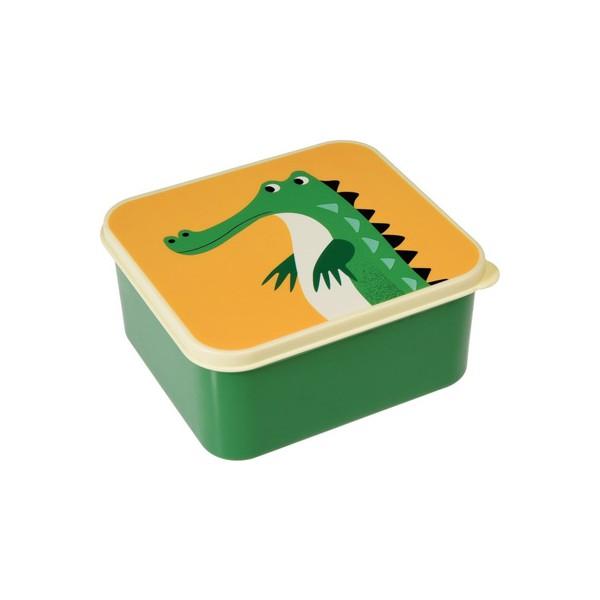 Lunchbox carré - Crocodile