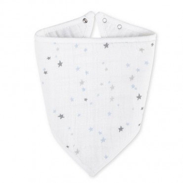 Bavoir bandana - Night Sky