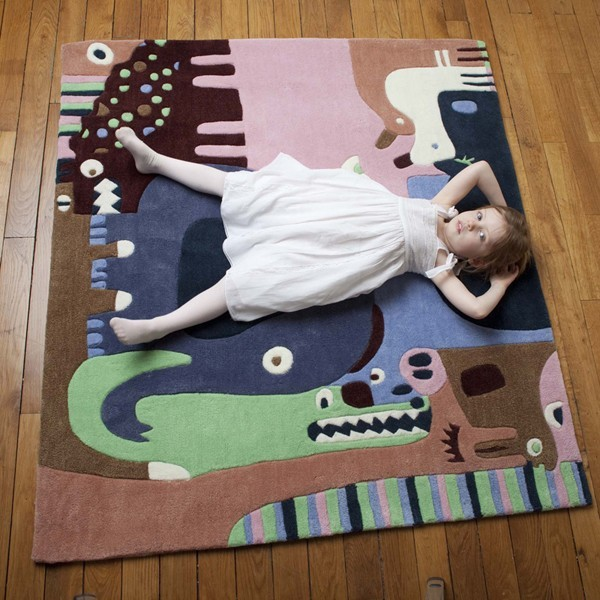 Tapis Puzzle Animaux 2 Ambiance Art for Kids