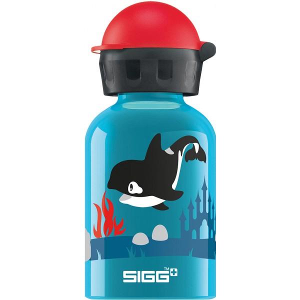 Gourde enfant 0,3 litre - Orca family