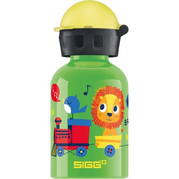 Gourde enfant 0,3 litre - Jungle train