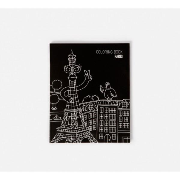 Carnet à colorier - Paris