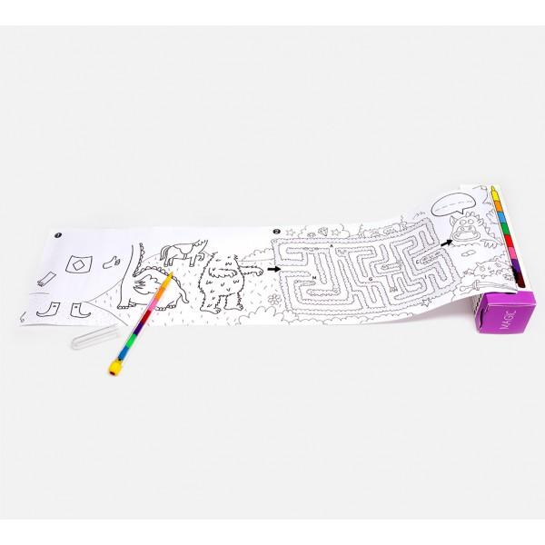 Pocket games & coloring - Magic