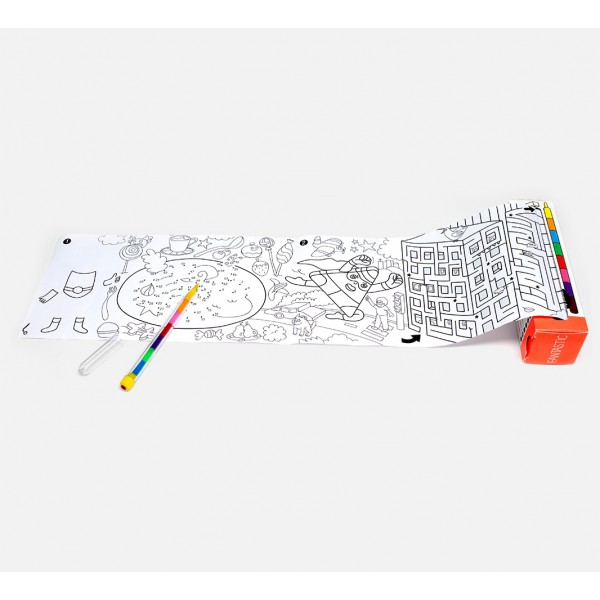 Pocket games & coloring - Fantastic
