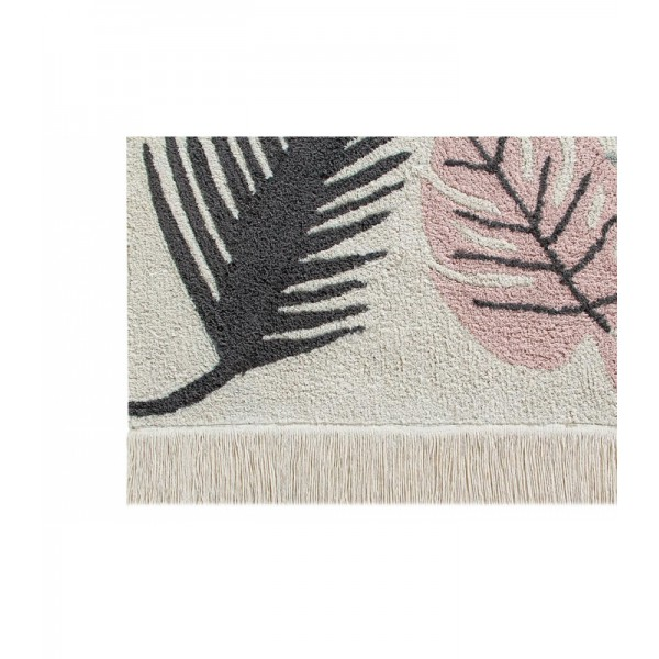 Tapis Tropical - Rose