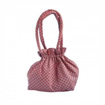Petit sac bourse - Jalila gris