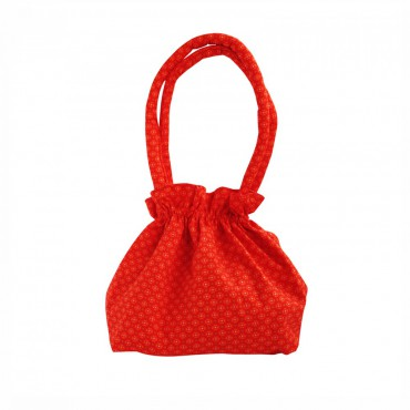 Petit sac bourse - Jalila orange