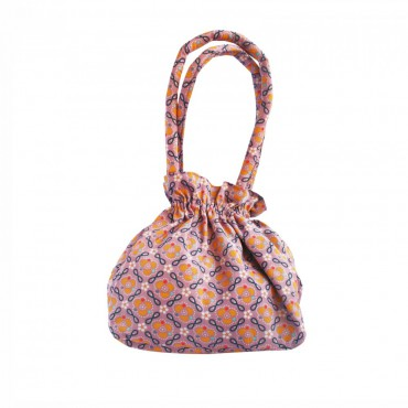 Petit sac bourse - Jalila Boussaina parme