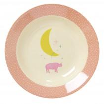 Assiette creuse - Pink universe