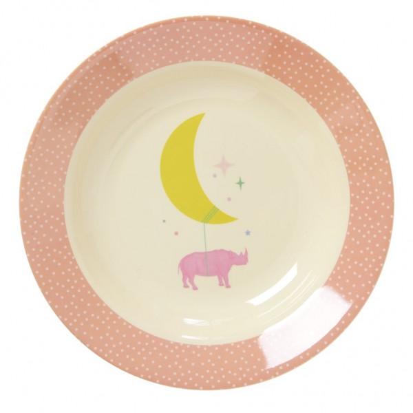 Assiette creuse, Pink universe