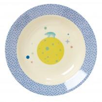 Assiette creuse - Blue universe