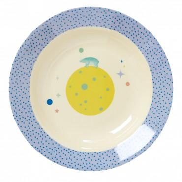 Assiette creuse, Blue universe