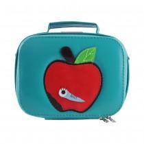 Lunchbox vinyle - Pomme bleu canard