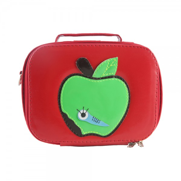Lunchbox vinyle - Pomme rouge