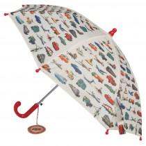 Parapluie enfant - Transport vintage