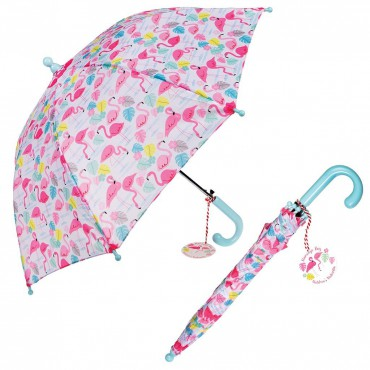 Parapluie enfant - Flamants roses