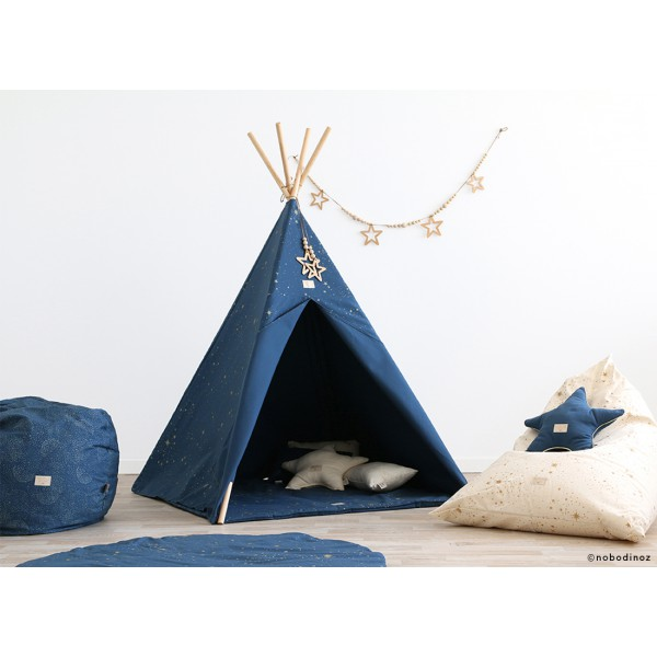 Tipi Phoenix - Gold bubble / night blue