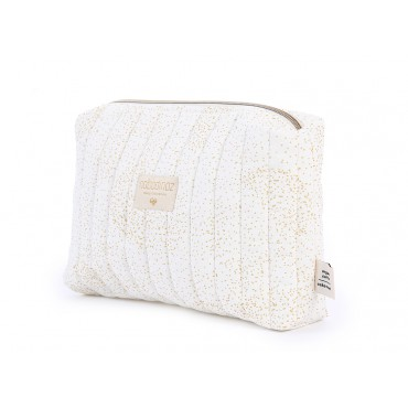 Trousse de toilette Travel - Gold bubble/White
