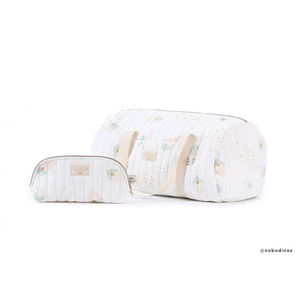 Trousse de toilette Holiday - Aqua eclipse/White