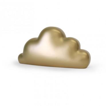 Tirelire - nuage doré