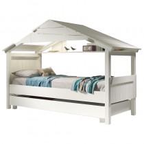 Lit Cabane Star avec tiroir lit - couchage 90x190 cm