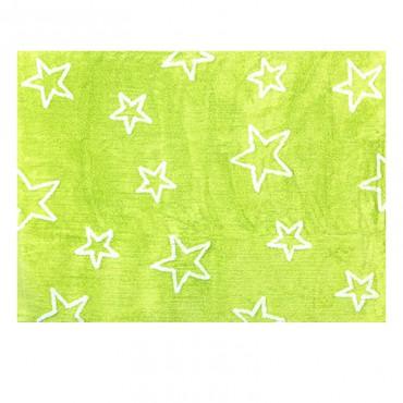 Tapis Etoiles non pleines Estrella - Vert pistache
